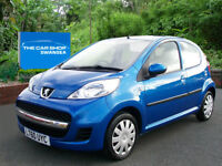 PEUGEOT 107 1.0 Urban 5 DOOR BEST COLOUR (electra blue) 2010