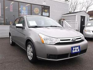2008 FORD FOCUS SE * ONLY 153 KMS * LIKE NEW * CERTIFIED E-TEST