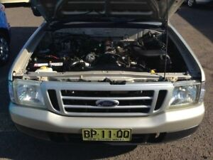 2006 Ford Courier PH GL Gold 5 Speed Manual Cab Chassis