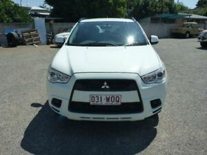 2010 Mitsubishi ASX XA MY11 2WD White Manual Wagon Townsville Townsville City Preview