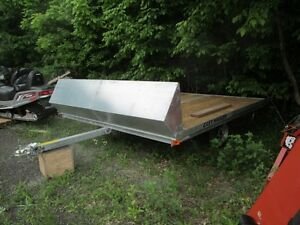 2017 Easy Hauler 101 x 10 snow trailer