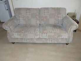 3 seater settee & arm chair