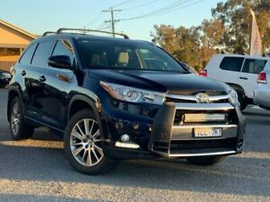 2014 Toyota Kluger GSU50R Grande 2WD Blue 6 Speed Sports Automatic Wagon Wodonga Wodonga Area Preview
