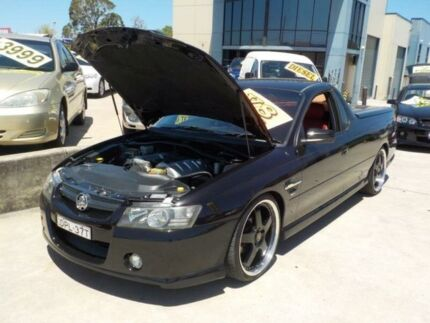 2005 Holden Commodore SS Black Automatic Utility