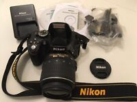 NIKON 5100 DSLR - High quality camera