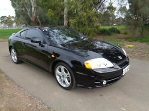 2004 Hyundai Tiburon Black Sports Automatic Coupe Mile End South West Torrens Area Preview