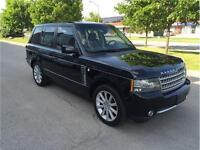 2011 LAND ROVER RANGE ROVER*SUPER CHAGED*BK-UP-CAM*NAVI*BLK/BLK