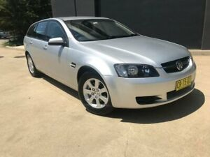 2009 Holden Commodore VE Omega Sportwagon 5dr Auto 4sp 3.6i [MY09.5] Silver, Chrome Automatic Wagon Villawood Bankstown Area Preview