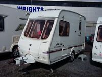 BUY Now - Pay & Collect Mar '17 - YOU Save £'s !! Swift 2/3 Berth End Washroom. L Front. Superb.