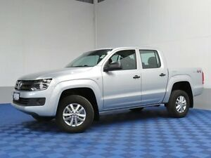 2016 Volkswagen Amarok 2H MY16 TDI400 Core Edition (4x4) Silver 6 Speed Manual Dual Cab Utility East Rockingham Rockingham Area Preview