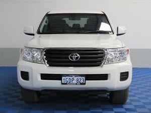2014 Toyota Landcruiser VDJ200R MY13 GXL (4x4) White 6 Speed Automatic Wagon Jandakot Cockburn Area Preview