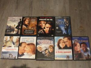 Variété de DVD a vendre