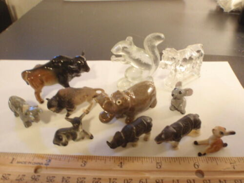 Miniature Four-footed Animal Collection