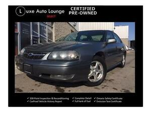 2004 Chevrolet Impala LS - only 120,000km! 3.8, CLEAN!