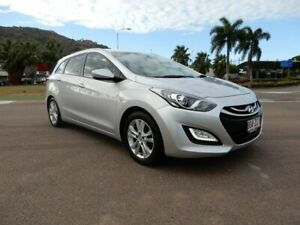 2013 Hyundai i30 GD Active Tourer Silver 6 Speed Sports Automatic Wagon Townsville Townsville City Preview