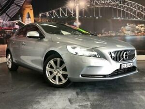 2016 Volvo V40 M Series MY17 D4 Inscription Silver Sports Automatic Hatchback Prospect Blacktown Area Preview