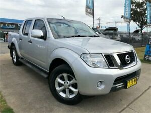2012 Nissan Navara D40 S6 MY12 ST Silver Sports Automatic Utility Mulgrave Hawkesbury Area Preview