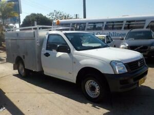 2004 Holden Rodeo RA DX White 5 Speed Manual Cab Chassis North St Marys Penrith Area Preview