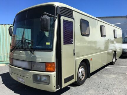 1988 Mitsubishi Fuso Gold Motor Home Underwood Logan Area Preview