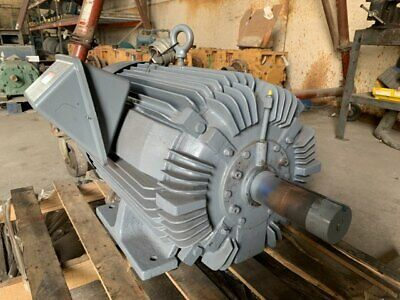 100 Hp Ao Smith Ac Electric Motor 1200 Rpm Fr 444t Tefcbb 230460 V Eok