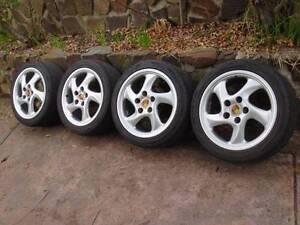 "Wheels 18"" Porsche Rims Mont Albert North Whitehorse Area Preview"