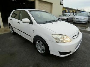 2006 Toyota Corolla ZZE122R Ascent Seca White 4 Speed Automatic Hatchback Werribee Wyndham Area Preview