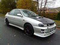 2000 W Subaru Impreza Turbo. Recent M.O.T. New Tyres. Low Miles. Great Drive. PX Considered.