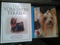 Yorkshire terrier books..