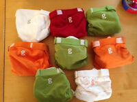 8 Washable nappies - Gnappies - small - new