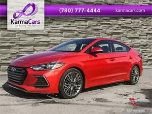 2018 Hyundai Elantra Sport -- BAD CREDIT --  ONLY $90!!!!