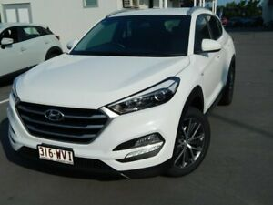 2016 Hyundai Tucson TL MY17 Active X 2WD White 6 Speed Sports Automatic Wagon North Lakes Pine Rivers Area Preview