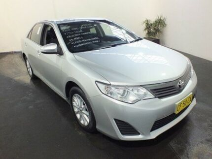 2012 Toyota Camry ASV50R Altise Silver Pearl 6 Speed Automatic Sedan Clemton Park Canterbury Area Preview