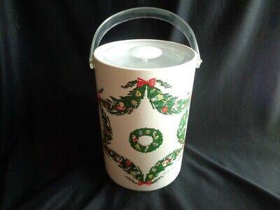 VTG GEORGES BRIARD CHRISTMAS BIG! ICE BUCKET](Big Ice Bucket)