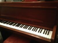Piano Small upright, REDUCED FOR QUICK SALE