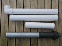 Flue pipe for boiler