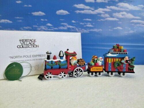 Dept. 56 ~ North Pole Village Accessory ~ 56368 North Pole Express Train