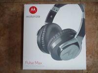 Motorola Pulse Max Headphones Brand New