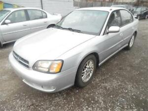 2002 Subaru Legacy  Special Edition All Wheel Drive, Auto $1495
