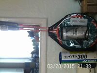 Brand New still in Wrapping - x2 Badminton Racquets & Shuttlecocks