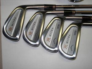 Miura Iron Sets CB 202/ MC 102-Japanese made clubs