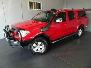 2010 Nissan Navara D40 ST (4x4) Red 5 Speed Automatic Dual Cab Woodridge Logan Area Preview
