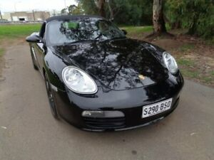 2005 Porsche Boxster Black Manual Convertible Mile End South West Torrens Area Preview