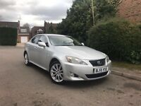 2006/55REG LEXUS iS220D 6 SPEED - FULL CREAM LEATHER - HEATED SEATS - COOLER SEATS