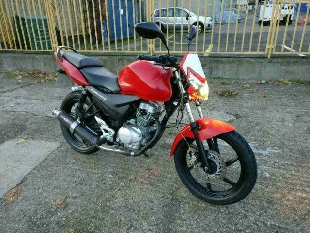 Honda cbf 125 custom for sale not ybr