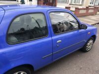 2001 NISAN MICRA 1.0 LOW MILES.... Clean car do not miss out