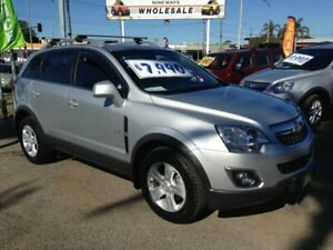 2011 Holden Captiva CG Series II 5 (FWD) Silver 6 Speed Automatic Wagon Broadmeadow Newcastle Area Preview