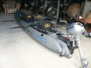 Viking Fisherman Tempo Fishing Kayak, Honda motor Hummingbird 170 Maryborough Fraser Coast Preview