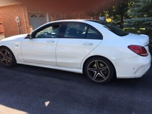 2017 Mercedes C43 AMG 4matic Lease takeover