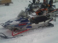 REDUCED !!! RMK MOUNTAIN SLED