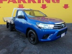 2015 Toyota Hilux GUN123R SR 4x2 Blue 5 Speed Manual Cab Chassis Winnellie Darwin City Preview
